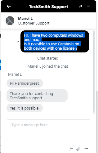 camtasia live support