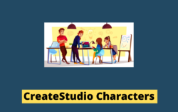 All CreateStudio Characters With Their Actions